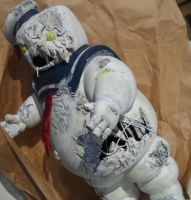 Zombie Stay Puft Undead Destructor Form by Derrico13