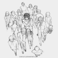 We're the most lonely in a crowd by cian1675