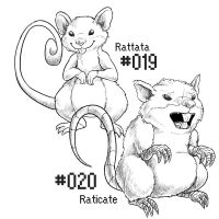 PKMN-A-DAY: The Rats by the-b3ing