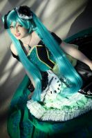 Miku : Evil flowers steadily bloom by princess-soffel