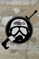 Mods logo - Nerf Wars by MudgetMakes