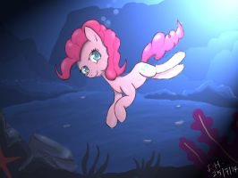 Pinkie Pie - Background study + lighting effect by Dashy21