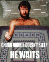 Chuck Norris Doesn't Sleep by JetsterDajet