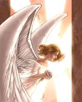 Amy as Angel by ComfortLove