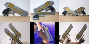 Yuna Guns Cosplay Props by ArtistMeli