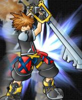 Happy Bday Ej. Kh2 Sora by Smoking-Squirrel