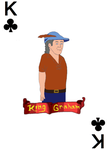 Graham: The King of Clubs by JenniBee