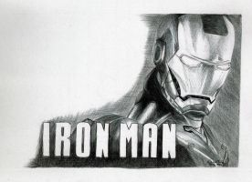 Iron Man _Ballpoint pen_ by Cindy-R