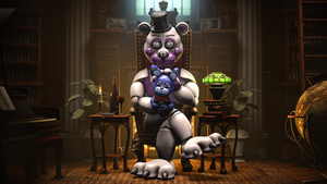 I've been waiting for you (Funtime Freddy SFM 4K) by gold94chica