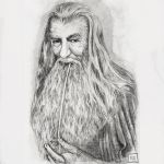 Gandalf the grey by zen-emma