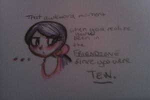 Ultimate Friendzoned Girl by FucshiaWillow