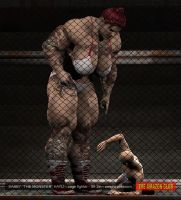 Sabby Hayli  - cage fighter - 8ft 2in by theamazonclub