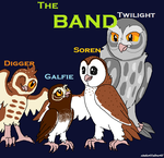 The BAND by Cinderfire1234
