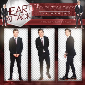 +Louis Tomlinson|Pack Png by Heart-Attack-Png