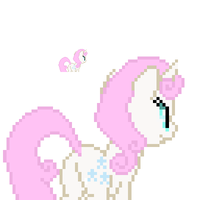 Twinkleshine back sprite by fanofetcetera