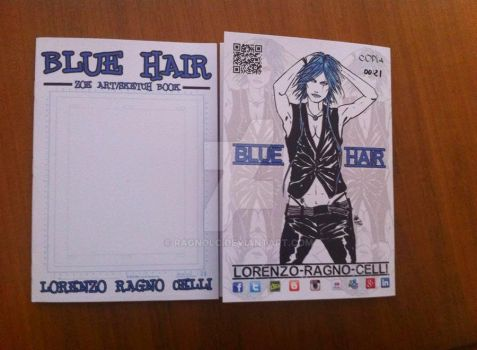 Blue Hair Art Book by ragnolc