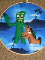 Gumby and Pokey Hoopla by evilkitten25