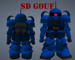 SD Gouf by lordvipes