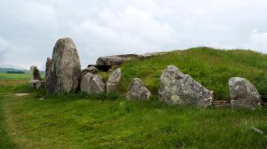 West Kennet Long Barrow 2 by wintersmagicstock