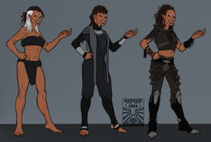 Comm - Thermrone's Xio Fashion Concepts by Harseik