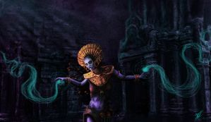 Witch Doctor - needs no weapon by Indigoportal