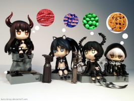 The BRS Girls Favorite Sweets by Kuro-Kinny