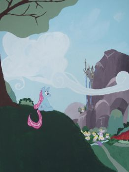 Dreams of Canterlot by phasingirl