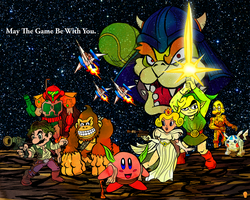Nintendo Star Wars by Eastforth