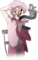 We are so late! Human Mangle~ by LordBasile