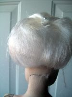 Wig Back View WIP by Rhissanna