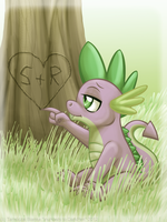 Spike by InuHoshi-to-DarkPen