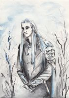 Thranduil sketch by Vilena68