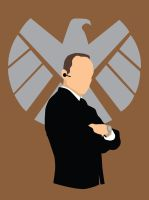 Agent Coulson of SHIELD by alicewieckowska