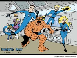 Fantastic Four, Timm Style by BillWalko