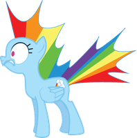 Rainbow Dash...SURPRISE by Senshisoldier