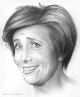Emma Thompson by gregchapin
