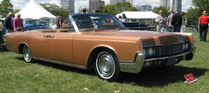 1967 Lincoln Continental. by motoryeti