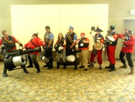 Otakon 2011 - Team Fortress 14 by mugiwaraJM