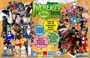 INDIEKET OFFICIAL POSTER by komikon