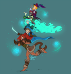Adventuring Party HOOO!!! by asianpie