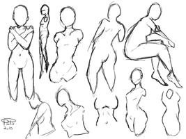 Female Body Practice by 97Ayame97