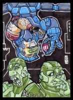 Sketch Card-A-Day 2013: 028 by lordmesa