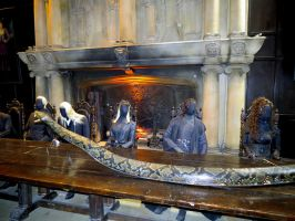 death eater meeting Nagini Voldemort by Sceptre63