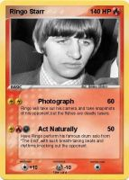 Ringo Starr Pokemon Card by BeatlesBoy26