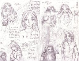 Old lotr drawings... by Kriska