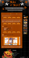 Free: Halloween Journal skin by Squitopus
