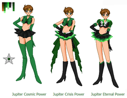 Sailor True Jupiter by kuloi-no-chloe