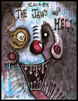 Escape The Jaws Of Hell by justinaerni