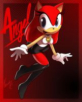 Angel the hedgehog by nancher