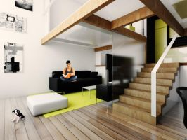 Mini lofts interiors_loft1 by Antioksidantas